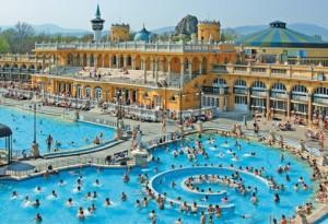 Budapesten szebbnél szebb fürdők találhatóak